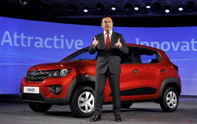 "Carlos Ghosn, CEO of the Renault-Nissan Alliance: """"We expect this car to be a game changer for Renault India"""