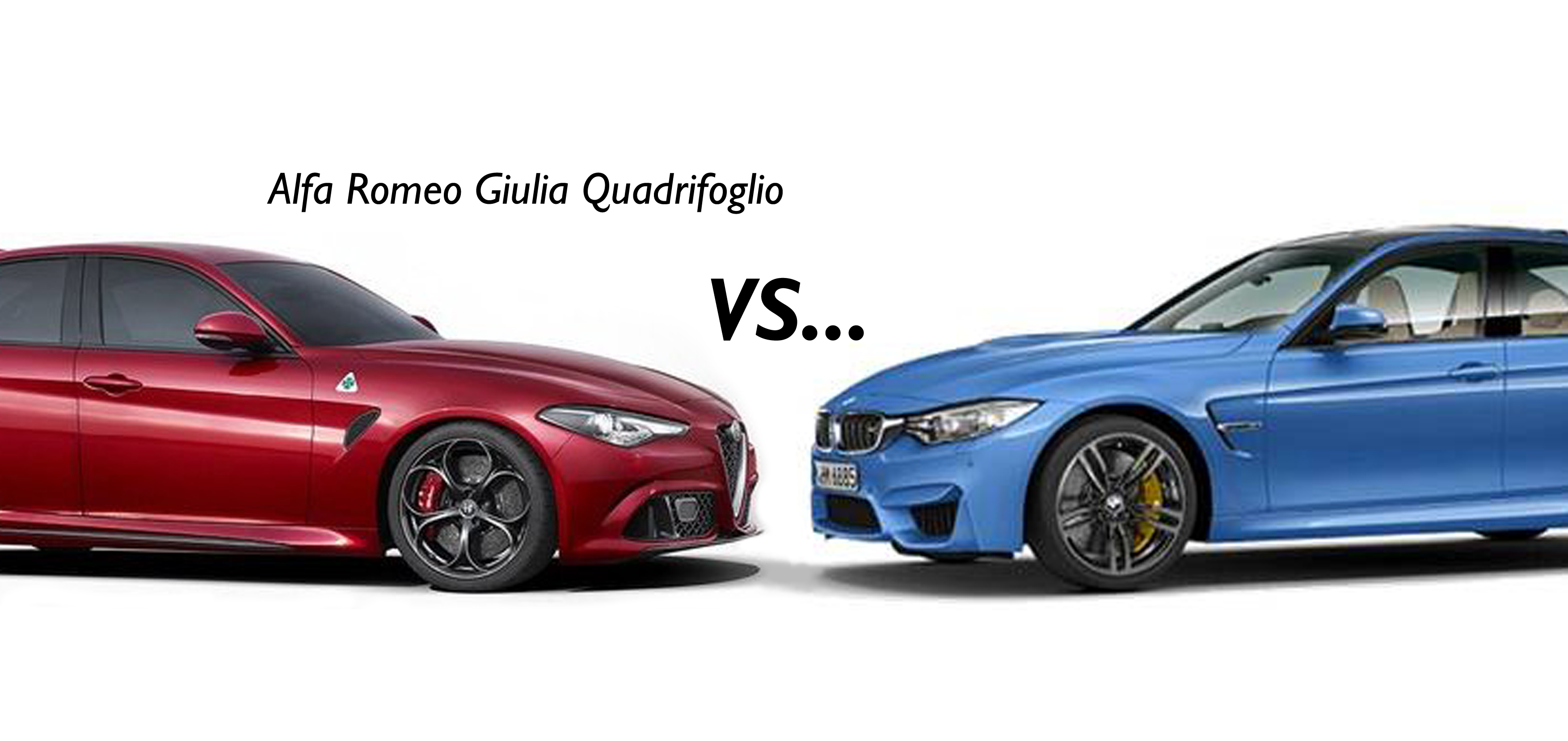 alfa romeo giulia quadrifoglio vs rivals fiat group 39 s world. Black Bedroom Furniture Sets. Home Design Ideas