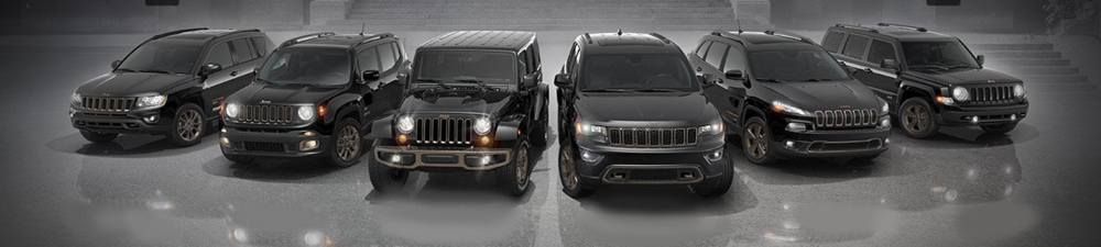 Jeep's current range is 5 years old. The Wrangler, Compass and Patriot are the eldest products (2007), and they are followed by the Grand Cherokee (2011). The Cherokee and Renegade were the last to join the family (2014).
